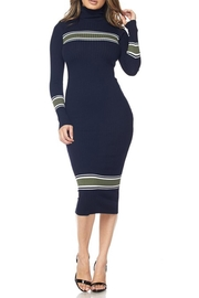 hera collection Turtleneck Sweater Dress - Product Mini Image