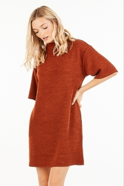 Very J Turtleneck Sweater Dress - Front cropped