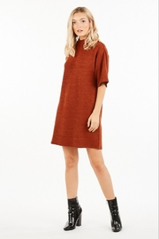 Very J Turtleneck Sweater Dress - Front full body