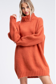 Emory Park  Turtleneck Sweater Dress - Product Mini Image
