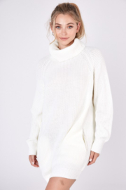 Idem Ditto  Turtleneck Sweater Dress - Product Mini Image