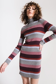Others Follow  Turtleneck Sweater Dress - Product Mini Image
