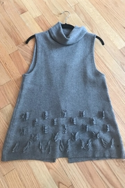 One Grey Day Turtleneck Sweater Tank - Product Mini Image