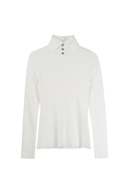 Bio Turtleneck With Buttons - Product Mini Image