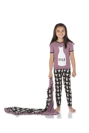 Kickee Pants Tuscan Cow Pajamas - Front full body