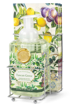 Michel Design Works Tuscan Grove Foaming Soap & Napkin Set - Product List Image