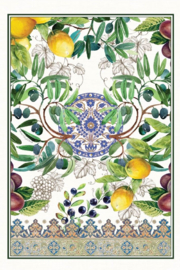 Michel Design Works Tuscan Grove Kitchen Towel - Front full body