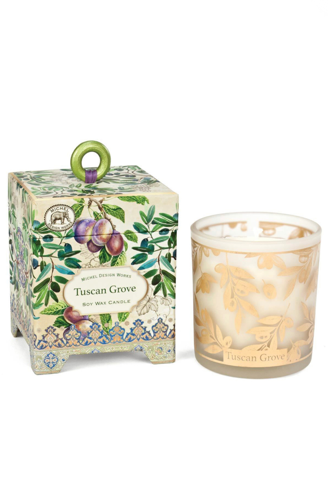 Michel Design Works Tuscan Grove Soy Wax Candle-Small 6.5oz - Main Image