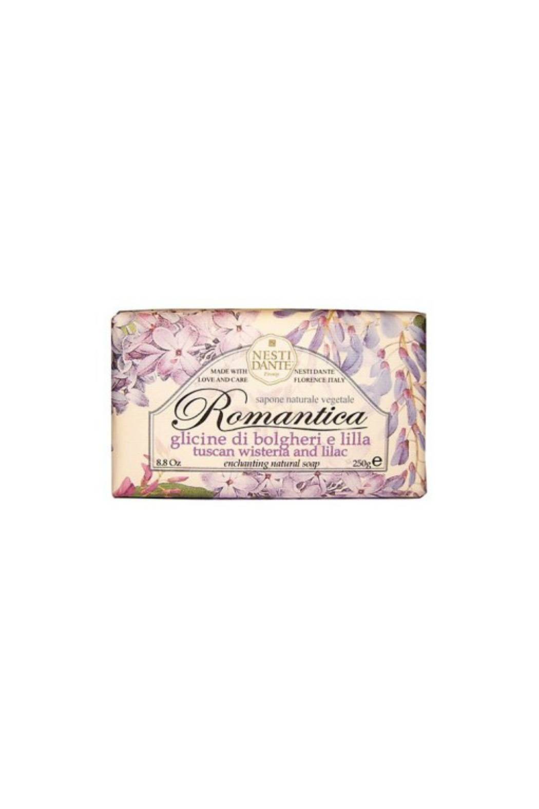 Nesti Dante TUSCAN WISTERIA AND LILAC BAR SOAP - Main Image