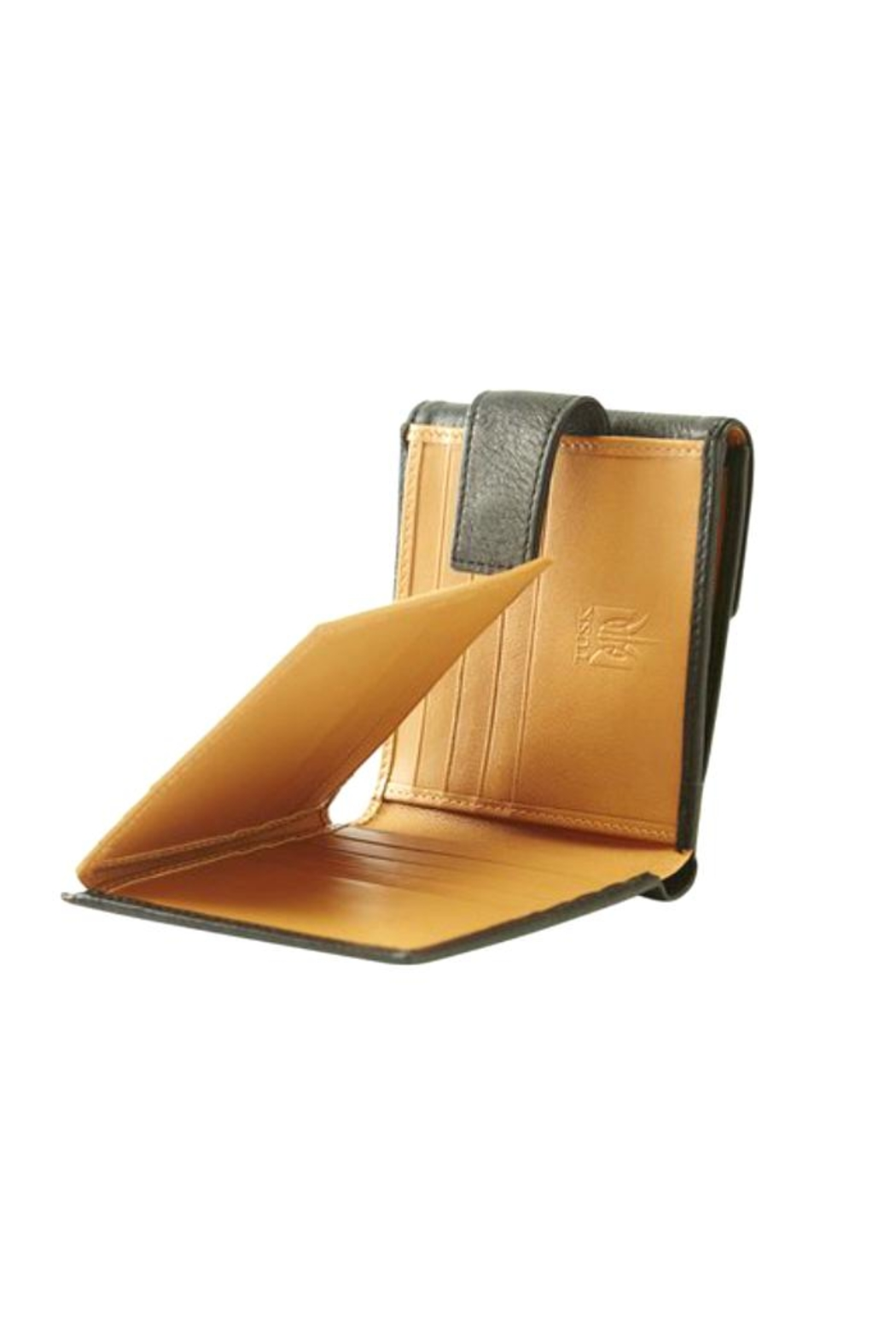 tusk Ascot L-Shaped Wallet - Front Full Image