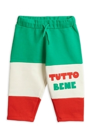 Mini Rodini Tutto Bene Sweatpants - Front cropped