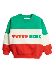 Mini Rodini Tutto Bene Sweatshirt - Front cropped