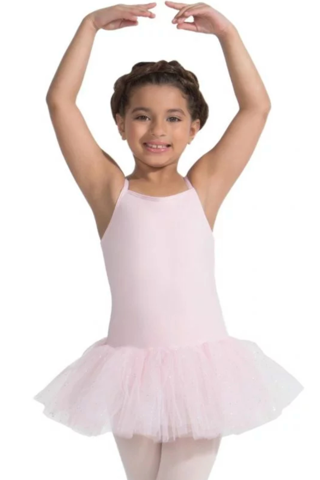 Capezio Tutu Dress With Glitter - Front Cropped Image