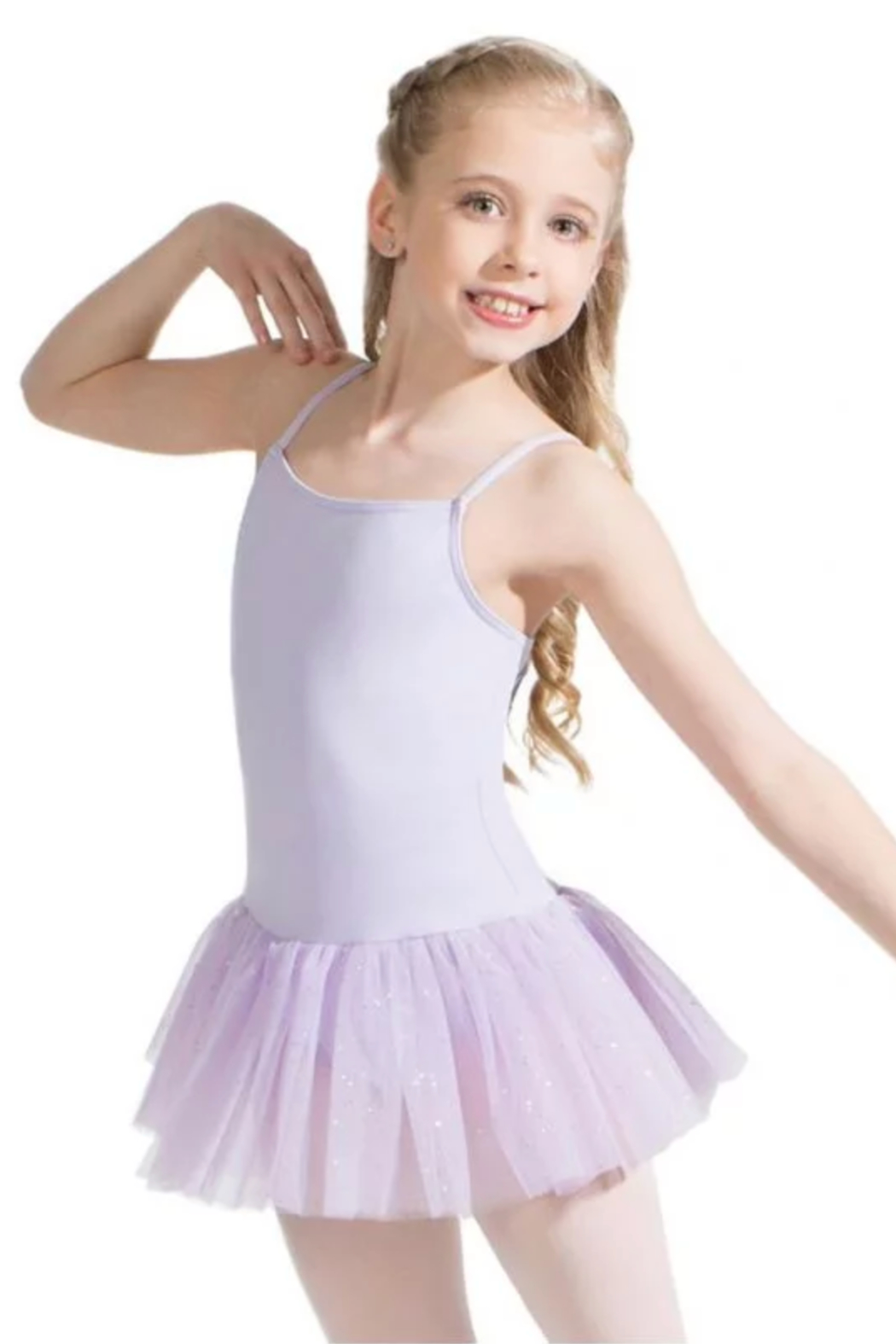 Capezio Tutu Dress With Glitter - Main Image