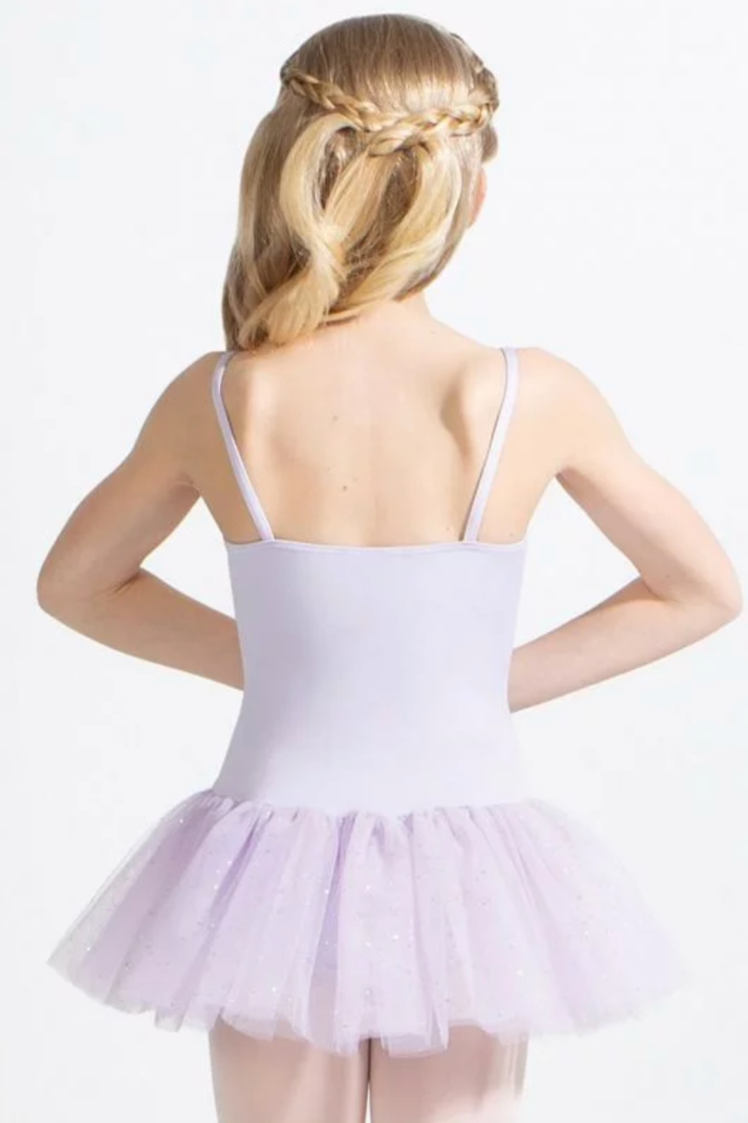 Capezio Tutu Dress With Glitter - Front Full Image