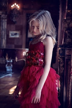 Shoptiques Product: Dramatic Red Dress