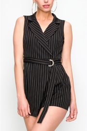 TIMELESS Tuxedo Romper - Front cropped