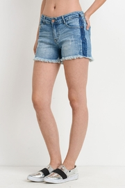 Black Label Tuxedo Stripe Shorts - Product Mini Image