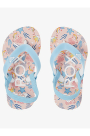 Roxy TW Tahiti VI Flip Flop With Backstrap - Front cropped