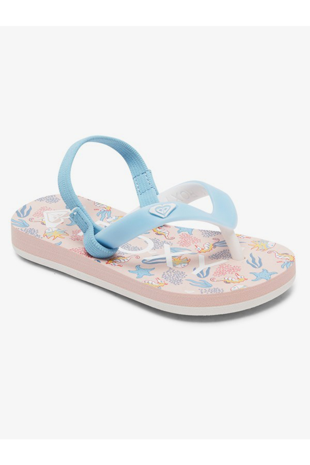 Roxy TW Tahiti VI Flip Flop With Backstrap - Front Full Image