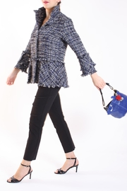 Talk of the Walk Tweed Boucle Jacket - Product Mini Image