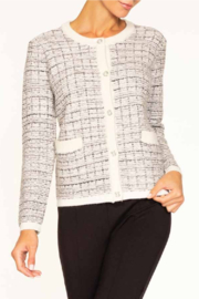 Alison Sheri  Tweed  Cardigan Sweater - Product Mini Image