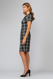 Joseph Ribkoff Tweed Dress - Side cropped