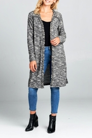 Miss Darlin Tweed Duster Cardigan - Product Mini Image