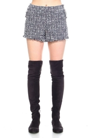 TCEC Tweed For Me shorts - Front cropped