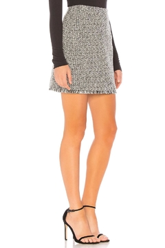 MinkPink Tweed Mini Skirt - Product List Image