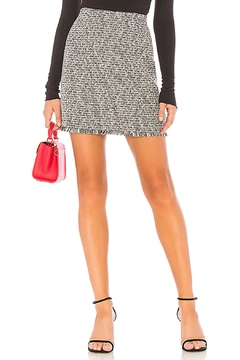 MinkPink Tweed Mini Skirt - Alternate List Image