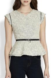 Tweed Peplum With Zip - Product Mini Image
