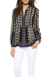 Twelfth Street by Cynthia Vincent Bell Sleeve Blouse - Product Mini Image