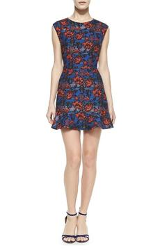 Twelfth Street by Cynthia Vincent Cap-Sleeve Mini Dress - Product List Image