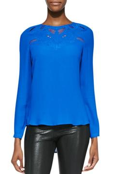 Twelfth Street by Cynthia Vincent Embroidered Yoke Blouse - Product List Image
