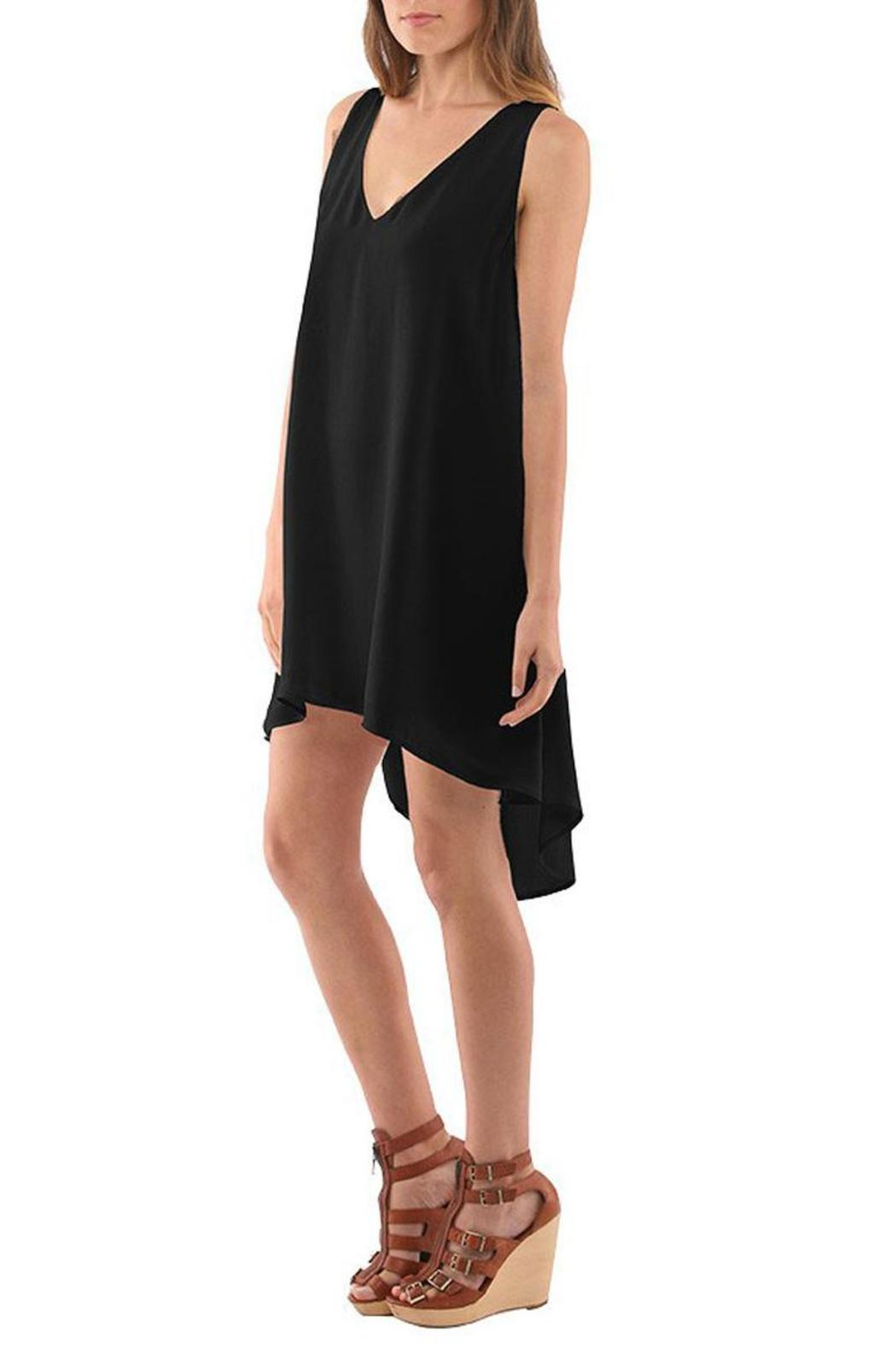 Twelfth Street by Cynthia Vincent Pleated Swing Dress - Front Cropped Image