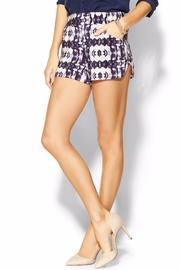 Twelfth Street by Cynthia Vincent Shibori Boho Shorts - Product Mini Image