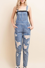 Honey Punch Twelve O'clock Overalls - Product Mini Image