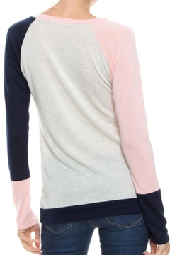 Twenty Second Colorblock Knit Top - Alternate List Image