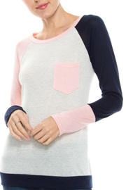 Twenty Second Colorblock Knit Top - Product Mini Image