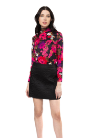 Julie Brown NYC Twiggy knit jersey top - Product Mini Image