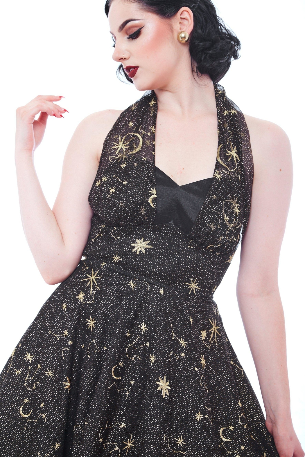Rebel Love Clothing Twilight Dress - Side Cropped Image