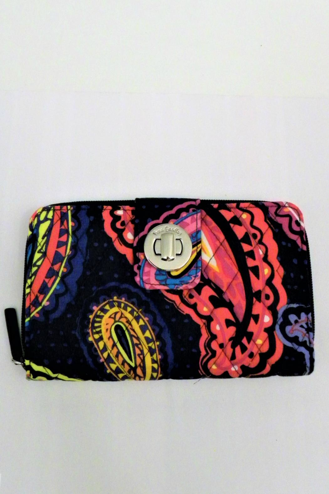 Vera Bradley Twilight Paisley Turnlock - Front Cropped Image