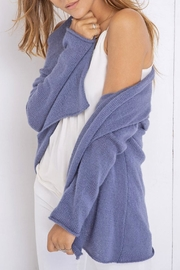 Wooden Ships Twilight Sky Cardigan - Side cropped