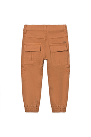 Minymo Twill Cargo Pants - Side cropped