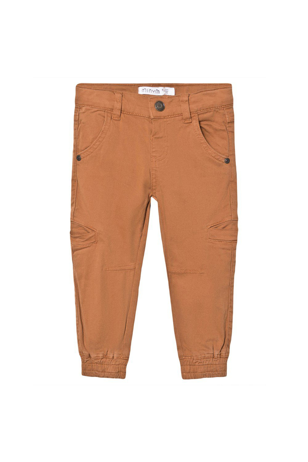 Minymo Twill Cargo Pants - Front Cropped Image