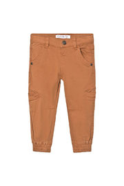 Minymo Twill Cargo Pants - Front cropped