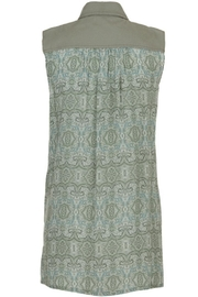 Tribal Twill Embellished Tunic - Front full body