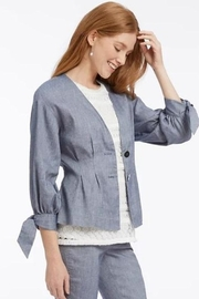 Nic + Zoe Twill Jacket - Product Mini Image
