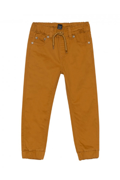 Shoptiques Product: Twill Jogger Pants - Cathay Spice